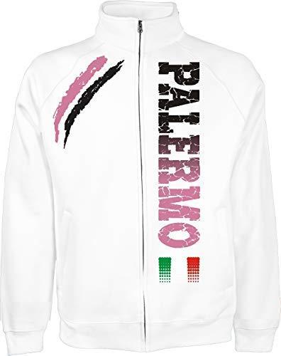 S Couleurs La Tifosi Et Sport Palermo Generico Ultras De Xxl Disponible À Football Veste Blanc 4 PwqO8SxT0f