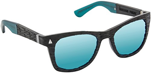 Norton Point The Swell Ocean Plastic Black Frame with CR-39 Polarized Lens - Cr-39 Sunglasses