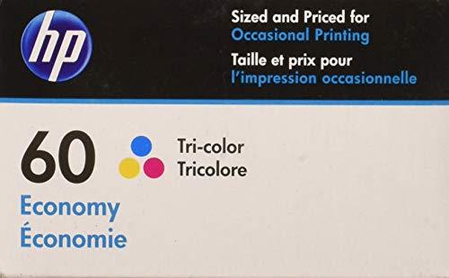 HP 60 Economy Tri-Color Ink Cartridge  for HP Deskjet D2530
