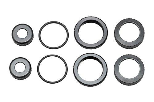 Yokomo O-Ring, Cap, Adjust Nut & Shock Cap Nut Set (for SLF Short Shock II)