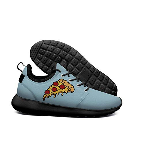 DEEEWKF Italian Family Vegetarian Pizza Mens 2018 Ultra Lighweight Sneakers -