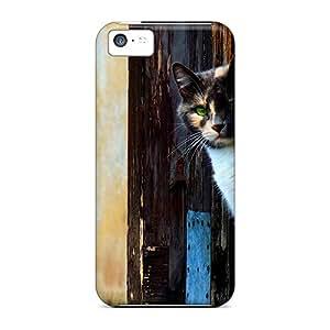 Iphone 5c Case Bumper Tpu Skin Cover For Venezian Cat Accessories