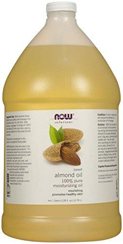 NOW Sweet Almond Oil 1 Gallon