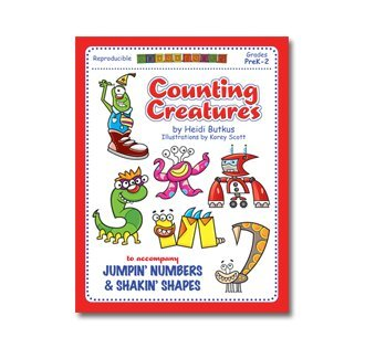 Download Counting Creatures 1-10 Number Workbook PDF