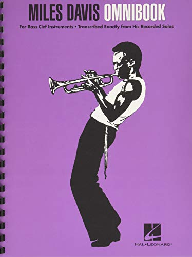 Miles Davis Omnibook For Bass Clef Instruments