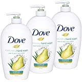 Dove Hand Wash, Pear And Aloe, 500 ml, Pack of 3