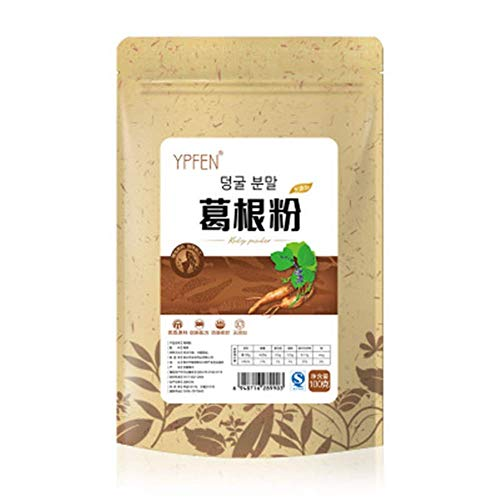 100g (0.22LB) Pure Natural Organic Pueraria Mirifica Powder Puerarin Lobed Kudzuvine Root Extr herbal tea scented tea Flower tea Botanical tea herbs tea Green tea Flowers tea Health Tea Chinese tea