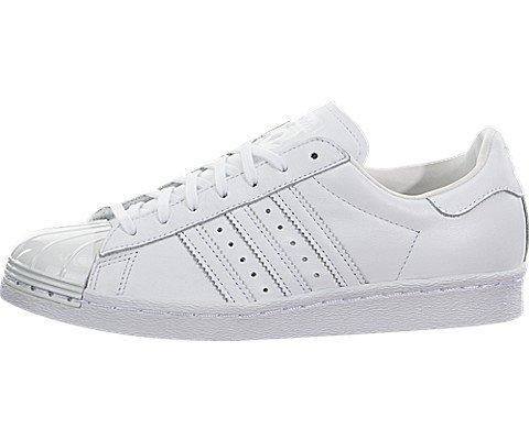 adidas Women Originals Superstar 80S METALTOE Shoes #S76540 (7.5)