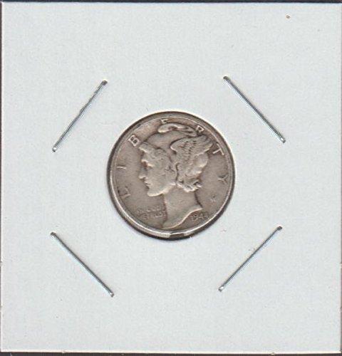 1944 Liberty Head Dime Choice Fine Details