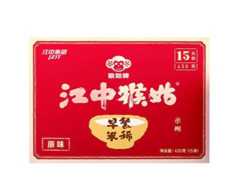 (Jiangzhong Hougu Breakfast Rice Cereal 15 Packs 江中猴姑早餐米稀原味15天装)