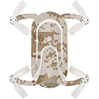 Skin For ZEROTECH Dobby Pocket Drone – Desert Camo | MightySkins Protective, Durable, and Unique Vinyl Decal wrap cover | Easy To Apply, Remove, and Change Styles | Made in the USA