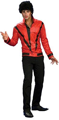 Michael Jackson Red Thriller Jacket, Adult Large (Thriller Zombie Costume)