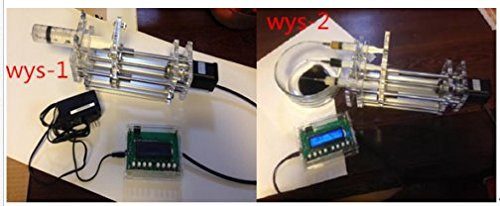 DIY Lab Injection pump syringe propeller controller micro injector dispenser single three channels (Channel Injector)