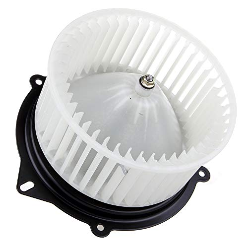 cciyu HVAC Heater Blower Motor with Wheel Fan Cage 3010115 Air Conditioning AC Blower Motor fit for 1991-2002 Ford Escort /1997-1999 Mercury Tracer