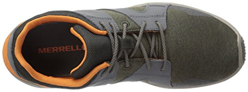 Dusty Merrell M Chaussures de Gymnastique Olive 1six8 Homme Lace qfx640rwPf