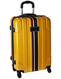 Tommy Hilfiger Luggage Lochwood 24-Inch Hardside Spinner, Yellow, One Size