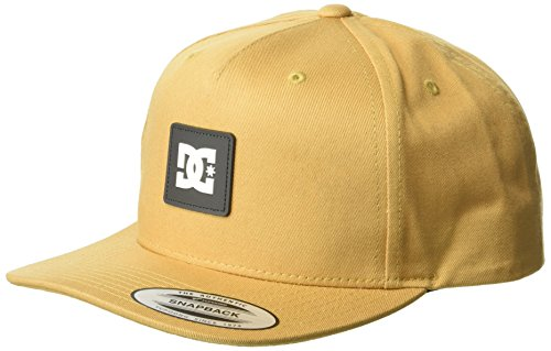 DC Men's SNAPDOODLE Snapback Trucker HAT, Wheat, 1SZ from DC