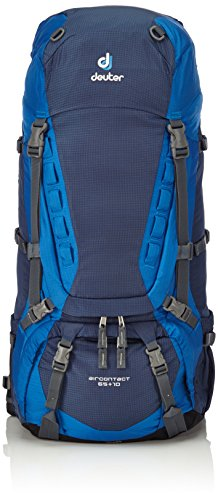 Deuter Aircontact 65+10 Backpack - Midnight/Ocean