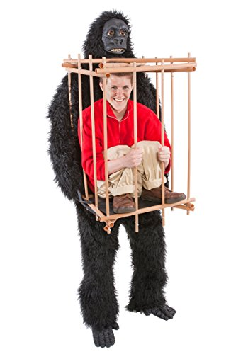 "HouseHaunters ""Get Me Outta This Cage"" Gorilla and Cage Costume Kit"