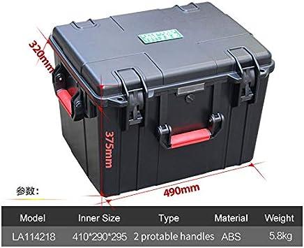 Bureze LAOA caja de seguridad IP67 caja de herramientas resistente al agua caja de almacenamiento de instrumentos con esponja: Amazon.es: Bricolaje y herramientas
