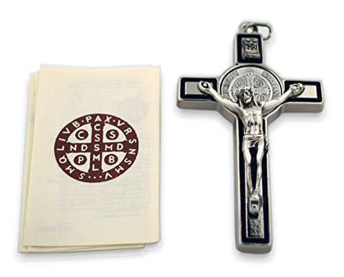 (Saint Benedict Crucifix with Cord and Booklet)