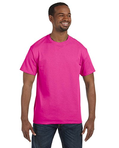 Jerzees Dri-Power Mens Active T-Shirt 2X-Large Cyber Pink -