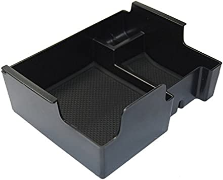 For 2016 Ford Explorer Central Console Armrest Storage Bin Box Tray Container