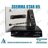 USB Wifi Genuine Handsfree H5 Hands Free Ricevitore TV satellitare Dual CORE DVB-S2 Hybrid DVB-T2 Combo Box, con funzione IPTV