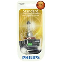 Philips H11 Standard Headlight Bulb, Pack of 1