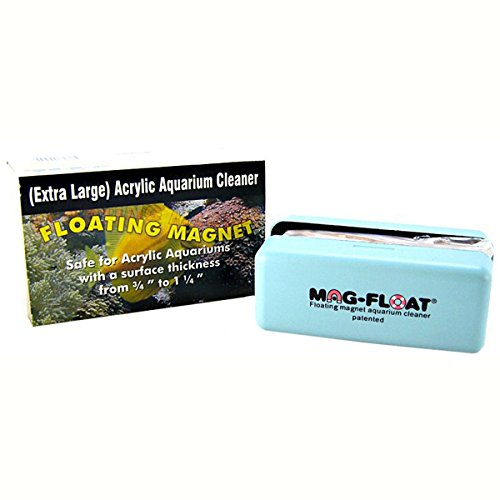 Mag-Float Floating Glass Aquarium Cleaner 1.25in Extra Large