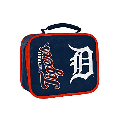 Officially Licensed MLB Detroit Tigers Sacked Lunchbox , 10.5-Inch, Navy