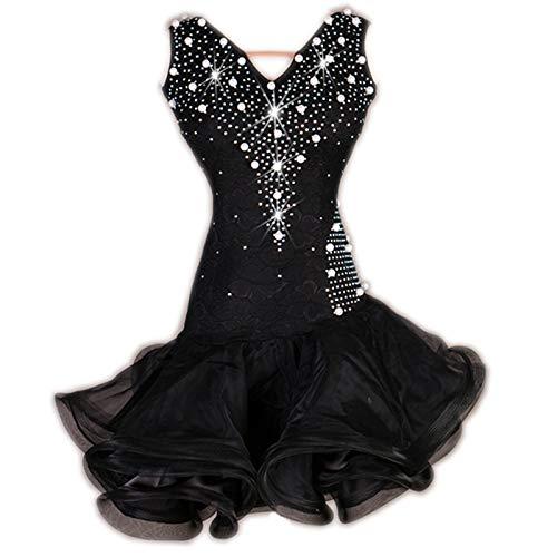 値頃 garuda 社交ダンス衣装 ラテン衣装 玉飾り レディースダンスドレス 社交ダンス B07QMJ8WDZ ラテン衣装 セミオーダー対応 玉飾り B07QMJ8WDZ ブラック,XL, 9am:878daf7b --- a0267596.xsph.ru