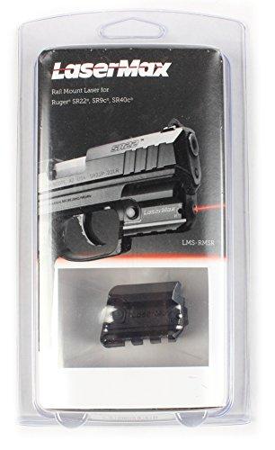 Laser Max LMS-RMSR Rail Mounted Laser (Red) For Ruger SR Series of Handguns