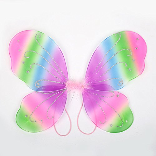 SSXY Dress Up Beautiful Elf Fairy Wing with 4231cm 10 Color Gift Supplies ()