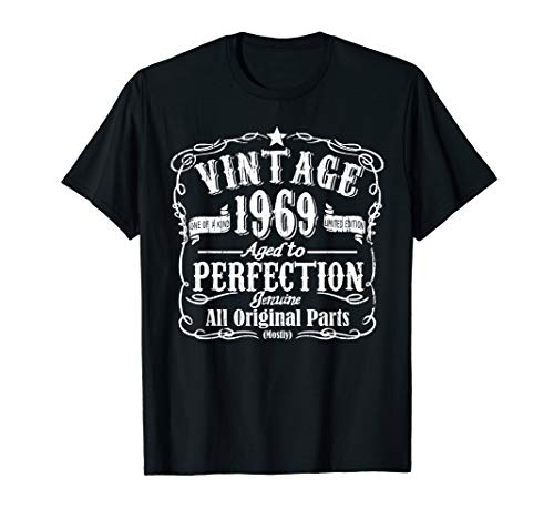 Vintage 1969 Shirt - 50 Years Old 50th Birthday Gift T shirt