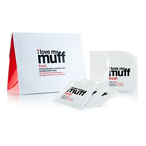 Love Fresh Flowers - I Love My Muff Fresh Wipes