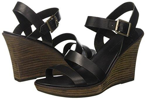 Cassanna Sandales Noir Femme Sandaljet Swank Swank strap jet Compensées Timberland Black Y OdFBqwxqH