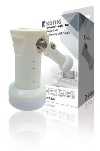 Konig Universal LNB Single 0.2 dB [KN-LNB-S20]