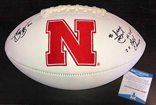 Damon Benning Signed Nebraska Cornhuskers Football Beckett Witness Coa - Beckett Authentication