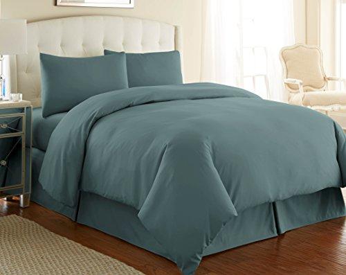 steel blue comforter - 2
