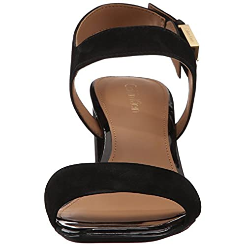 e3cf96e7eee6 delicate Calvin Klein Women s Cimi Block Heel Sandal - pilot ...