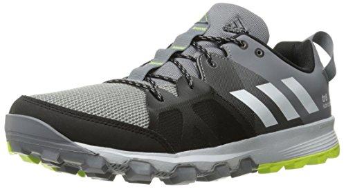 adidas outdoor Mens Kanadia 8 TR Trail Running Shoe Grey/White/Solar Yellow