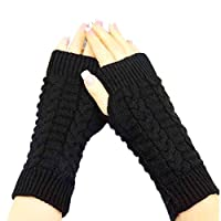 Bold N Elegant Knitted Woollen Warm and Comfortable Fingerless Gloves Thermal Mittens Winter Gloves Accessories Hand Warmer Gloves