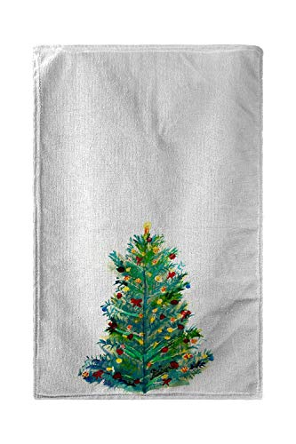 Betsy Drake Christmas Tree Beach Towel