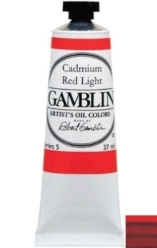 (Gamblin G1682 37ml Artists Grade Oil Color - Transparent Earth Red by)