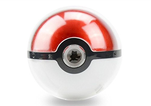 Pokeball Powerbank with LED projector! - 1