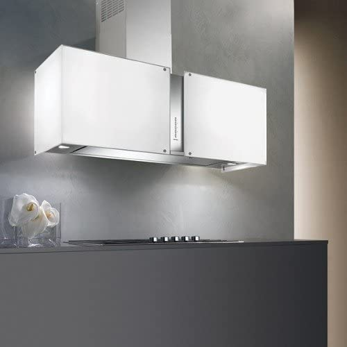 Falmec-Campana de pared LED Maia cristal templado serigrafiado 67 cm y potencia 800m3/h: Amazon.es: Hogar