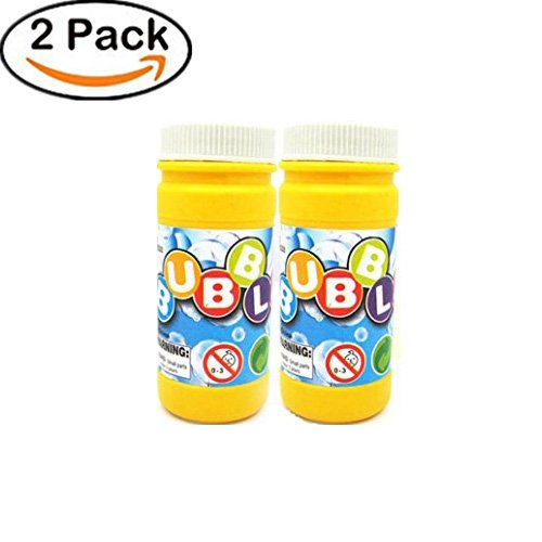 Bubble Water Column - Yeefant 2PCS 50ML Non Toxic Sealed Packaging Bubble Solution Mixture Machine Blower Ready Mixed Water Refill Liquid Fluid