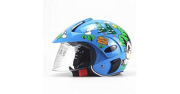 Amazon.com: NACOLA - Casco de ciclismo para niños con escudo ...