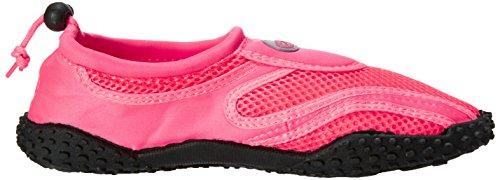Das Wasser der Wellen-Frauen beschuht Pool-Strand-Aqua-Socken-Yoga-Übungs-Tendenzen SNJ 1155L Neon Fuchsia